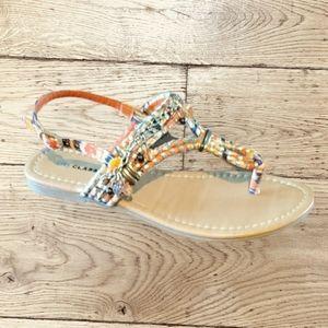 🌻City Classified Thong Sandal Size 6